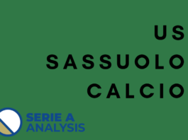 Sassuolo Serie A Tactical Analysis