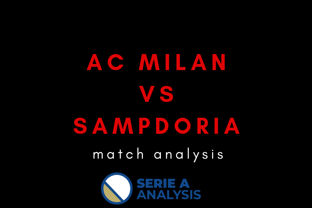 AC Milan Sampdoria Serie A Tactical Analysis Statistics