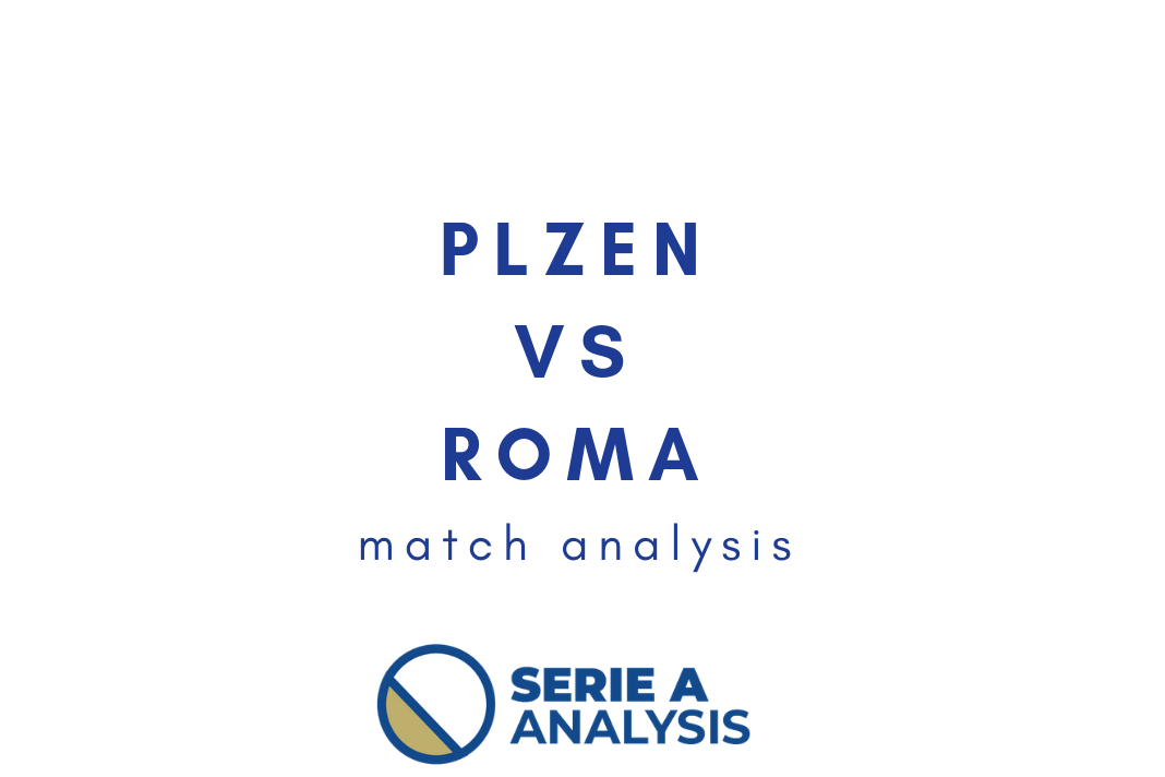 UEFA Champions League 2018/19: Plzen vs Roma Tactical Analysis Statistics