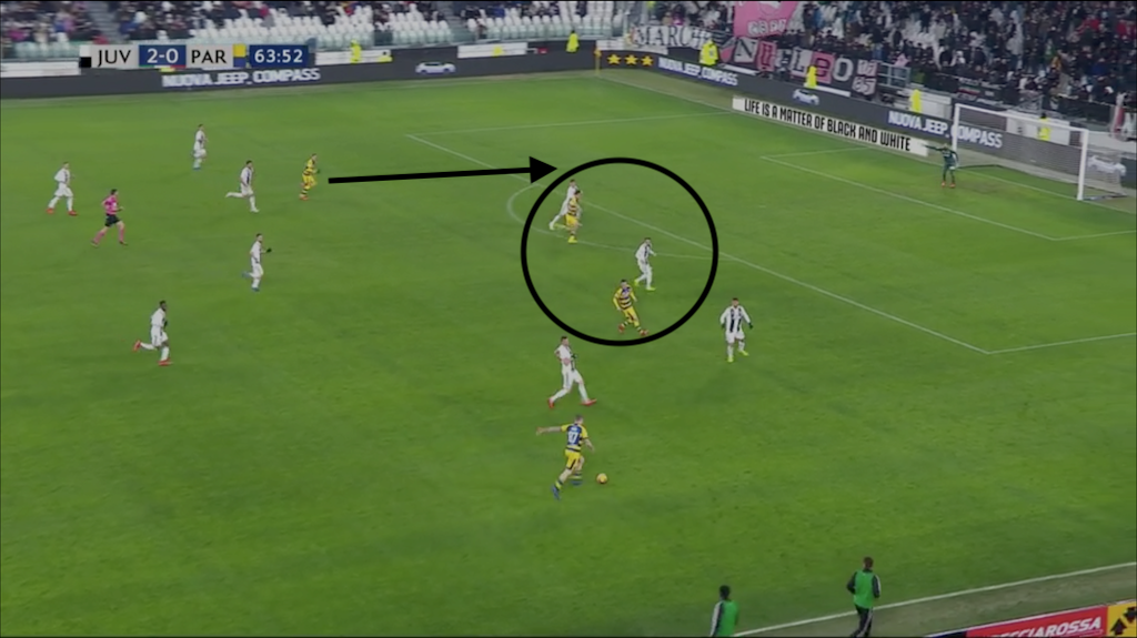 Juventus Parma Serie A Tactical Analysis Statistics