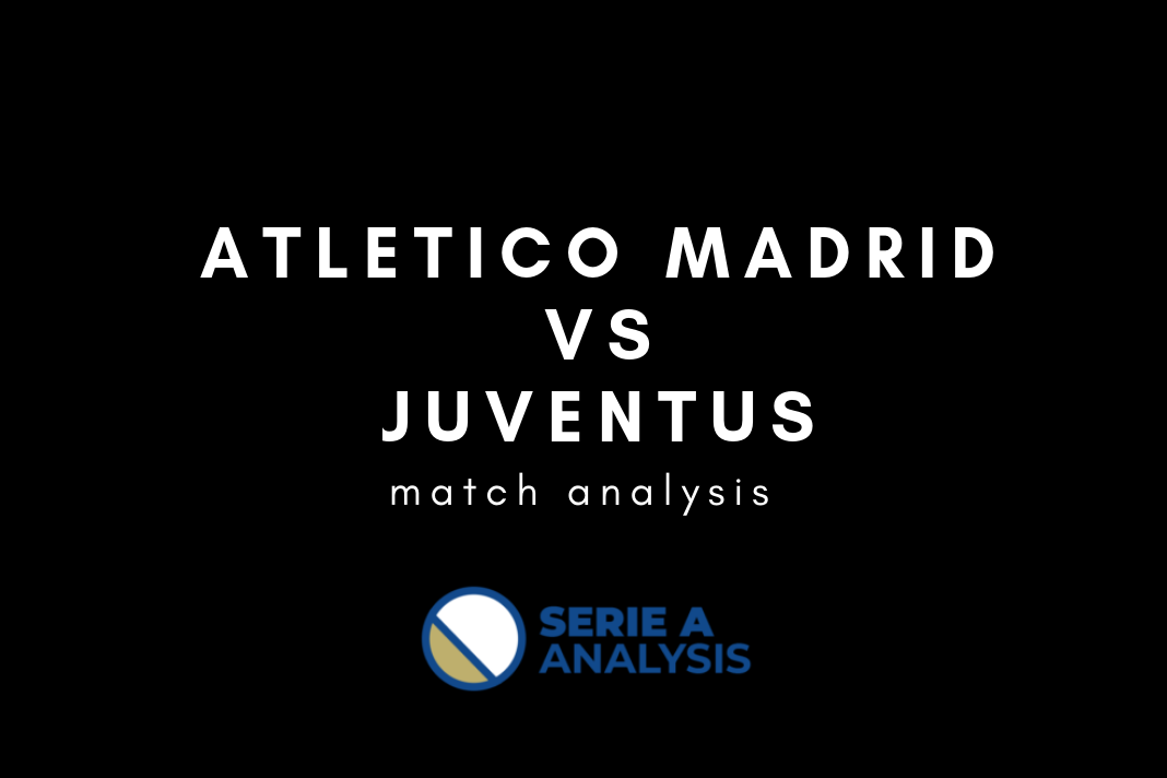 Atletico Madrid Juventus Champions League Tactical Analysis Statistics