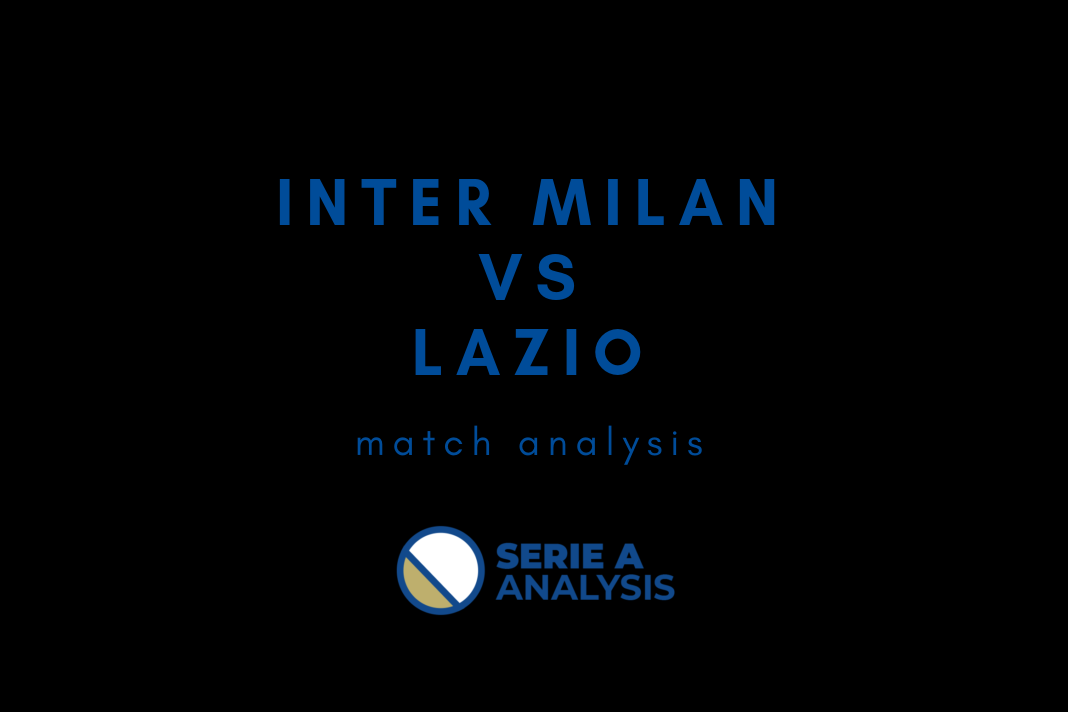 Inter Milan Lazio Coppa Italia 2018/19 Tactical Analysis Statistics