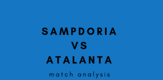 Sampdoria Atalanta Serie A Tactical Analysis