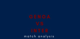 Genoa Inter Serie A Tactical Analysis