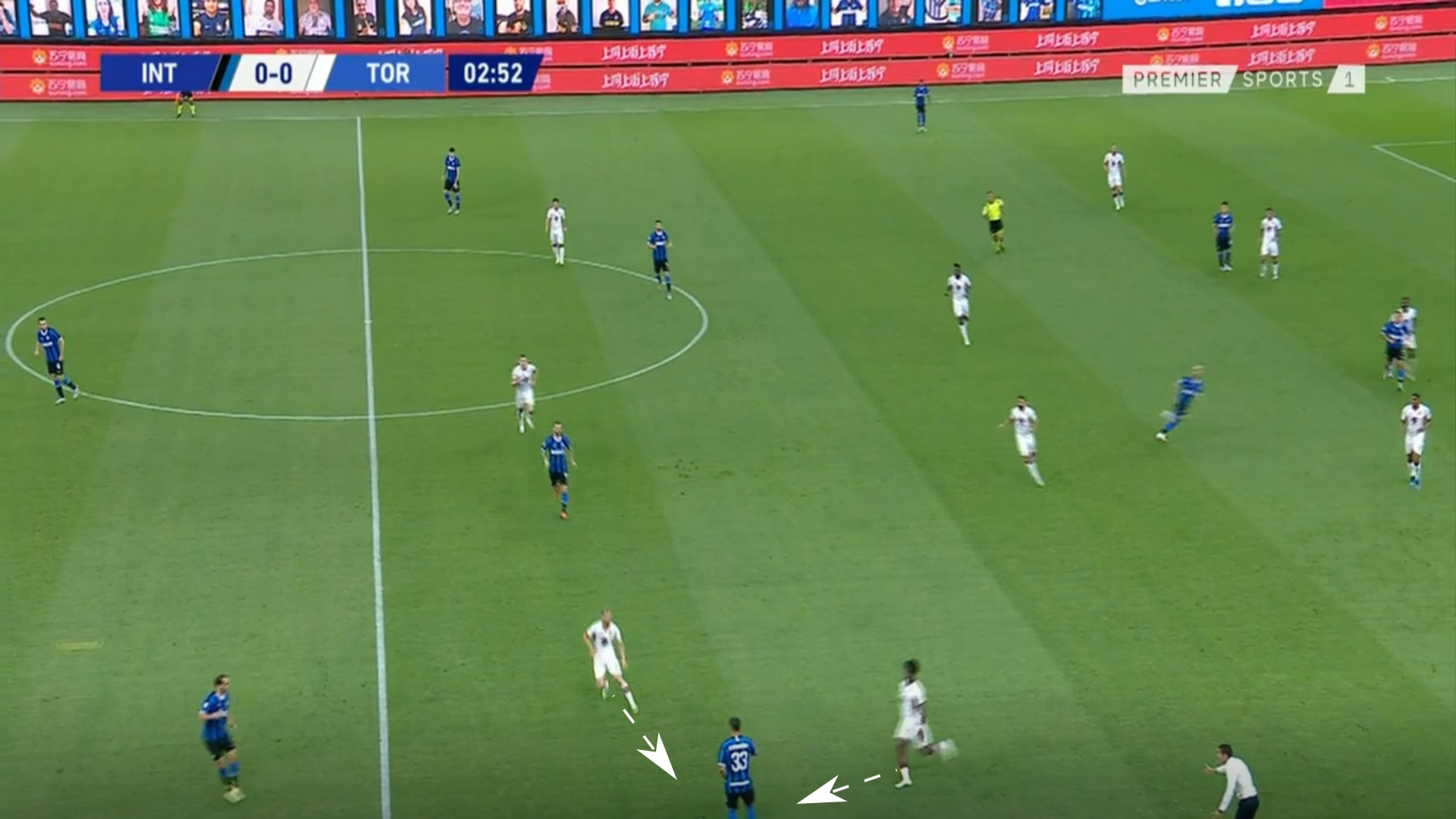 Serie A 2019/20: Inter vs Torino - tactical analysis tactics